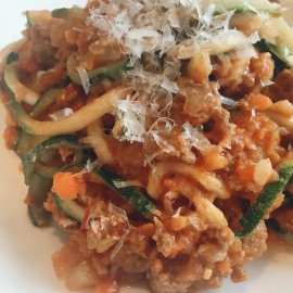 Bolognese Sauce from Fresh Tomatoes